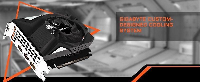 VGA GIGABYTE GTX 1650 MINI ITX OC 4G Chính Hãng