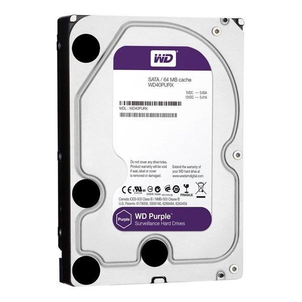 36 Wd Purple 4tb Wd40purx