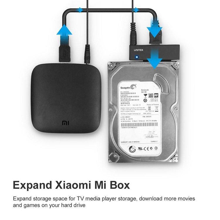 HDD Box Unitek Y-1039B