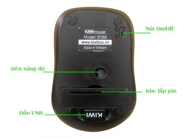 Kiwi Mouse S189