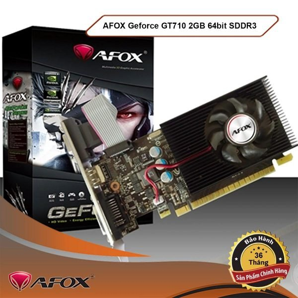 Vga Afox Gt710 2gb Ddr3 64bit Box Chinh Hang1578718319