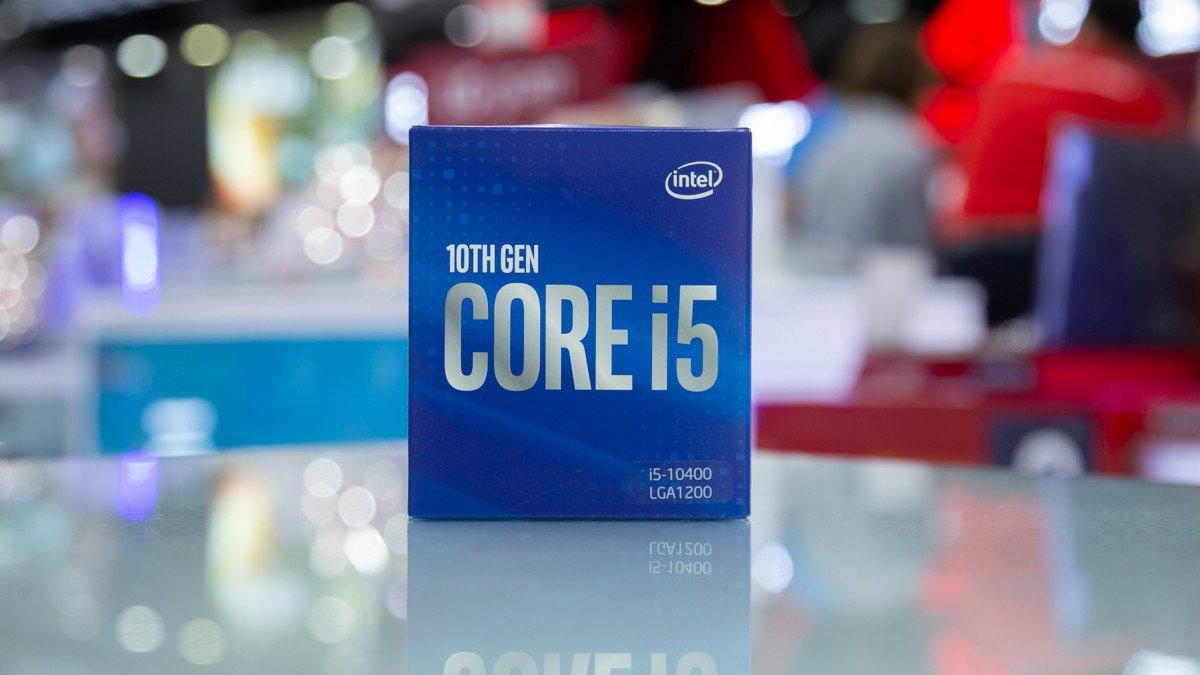 CPU Intel Core i5-10400 Box Chính hãng