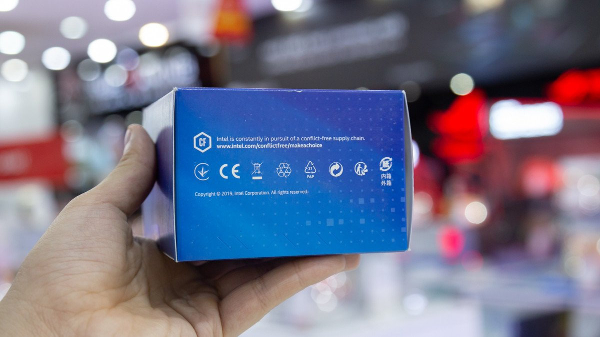 CPU Intel Core i7-10700 Box Chính hãng