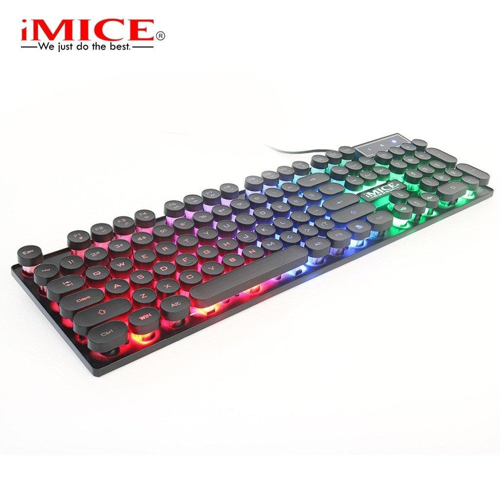 KB IMICE AK700 Giả Cơ CÓ LED chuyên GAME USB Chính hãng