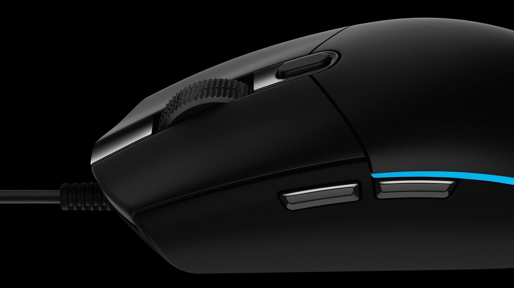 Mouse LOGITECH G102 Gen II Lightsync RGB Gaming Đen Chính hãng