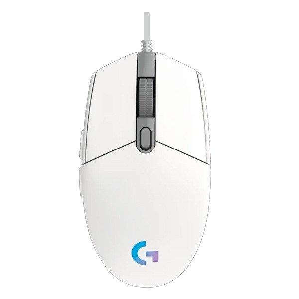 Mouse LOGITECH G102 Gen II Lightsync RGB Gaming Trắng Chính hãng