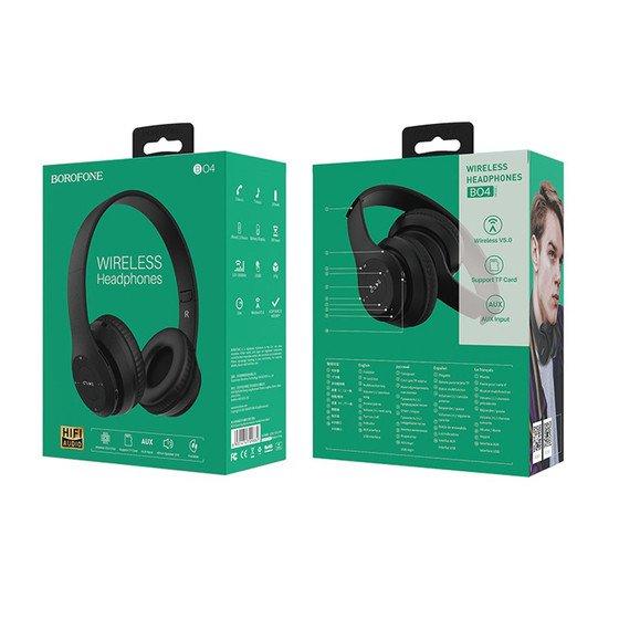 TN Chụp tai Bluetooth BOROFONE BO4 Chính hãng (Có khe thẻ nhớ )