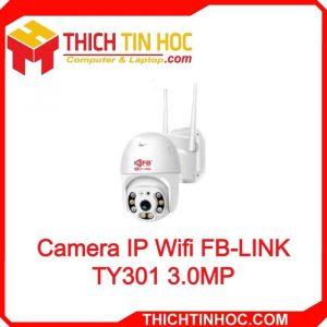 Camera Ip Wifi Fb Link Ty301 3.0mp