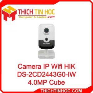 Camera Ip Wifi Hik Ds 2cd2443g0 Iw 4.0mp Cube