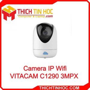 Camera Ip Wifi Vitacam C1290 3mpx 2k (1)