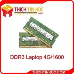 Ddr3 Laptop 4g 1600