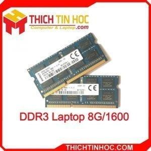 Ddr3 Laptop 8g 1600