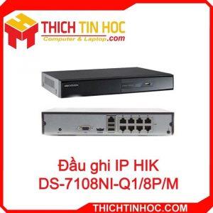 Đầu Ghi Ip Hik Ds 7108ni Q1 8p M