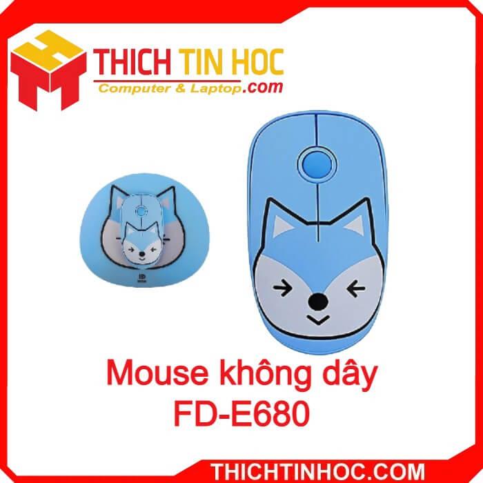 Mouse Không Dây Fd E680