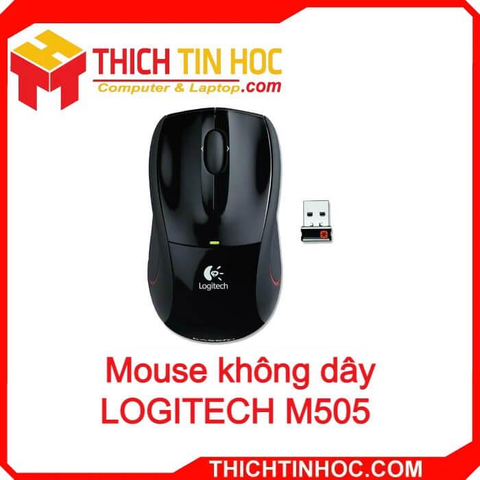 Mouse Không Dây Logitech M505