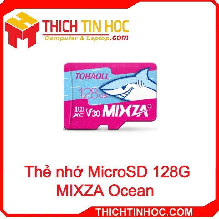 Thẻ Nhớ Microsd 128g Mixza Ocean