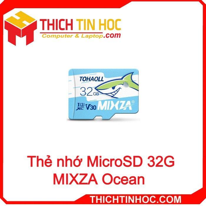 Thẻ Nhớ Microsd 32g Mixza Ocean Box Class10