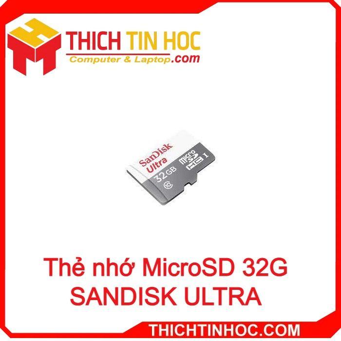 Thẻ Nhớ Microsd 32g Sandisk Ultra Squnr 032g Gn3mn