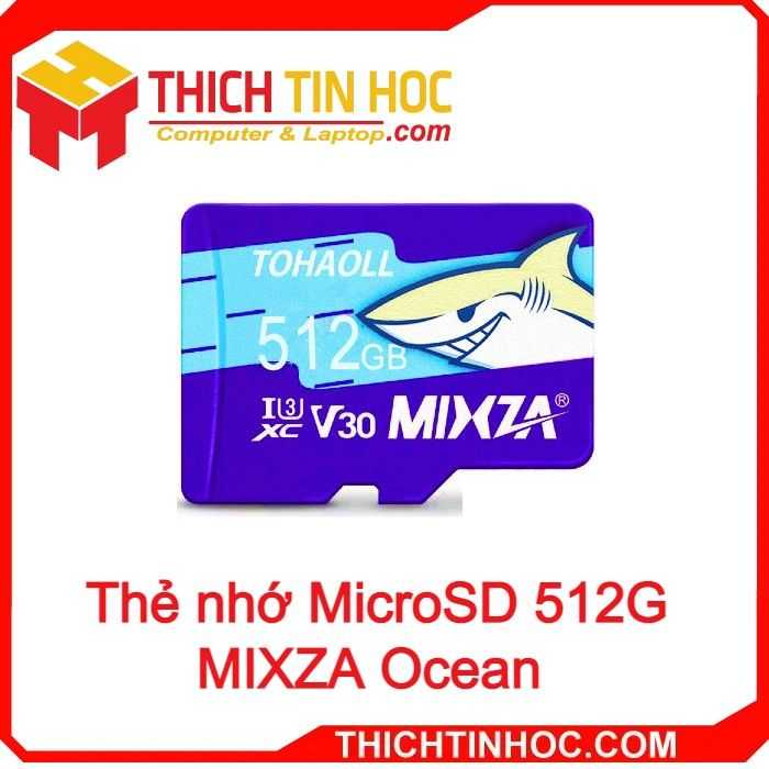 Thẻ Nhớ Microsd 512g Mixza Ocean Box Class10