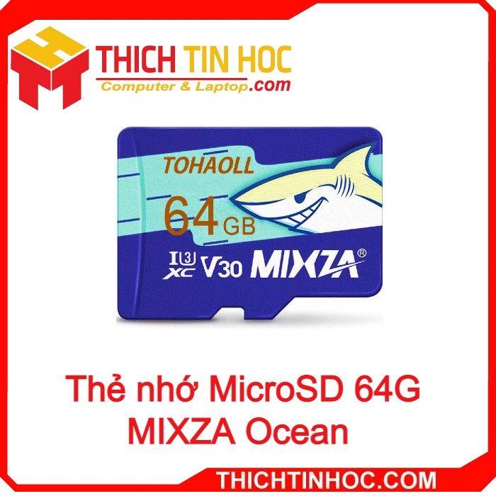 Thẻ Nhớ Microsd 64g Mixza Ocean