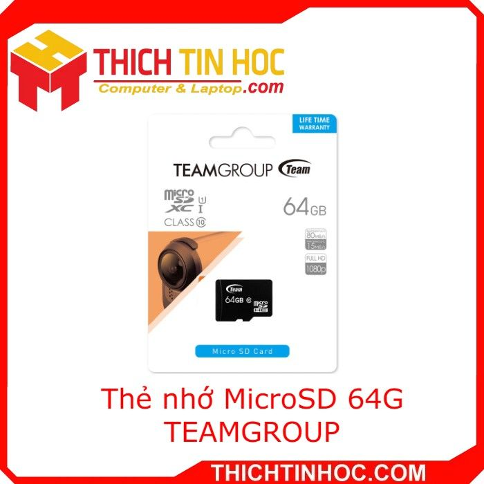 Thẻ Nhớ Microsd 64g Teamgroup