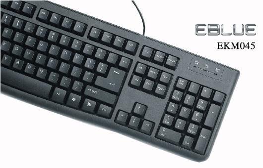 Keyboard E-BLUE EKM 045bk/045bk Pro USB