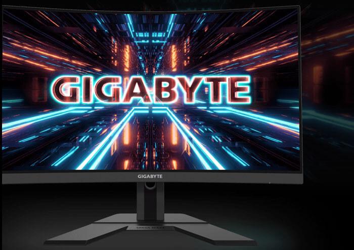 LCD 27' GIGABYTE G27QC A Chính hãng (VA - DP, 2xHDMI, 2560x1440, 165Hz, Cong)