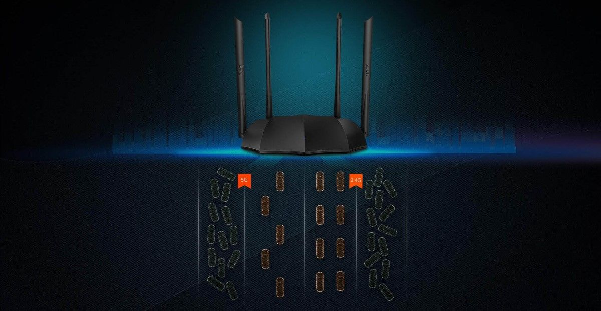 Phát Wifi Tenda AC8