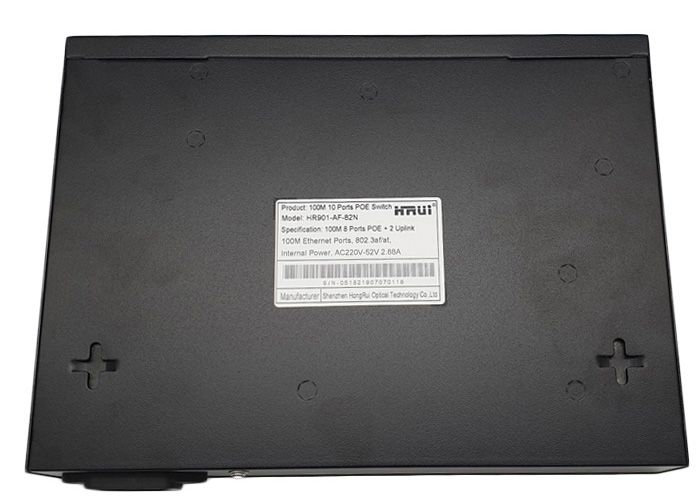 Switch PoE HRUI HR901-AF-82N